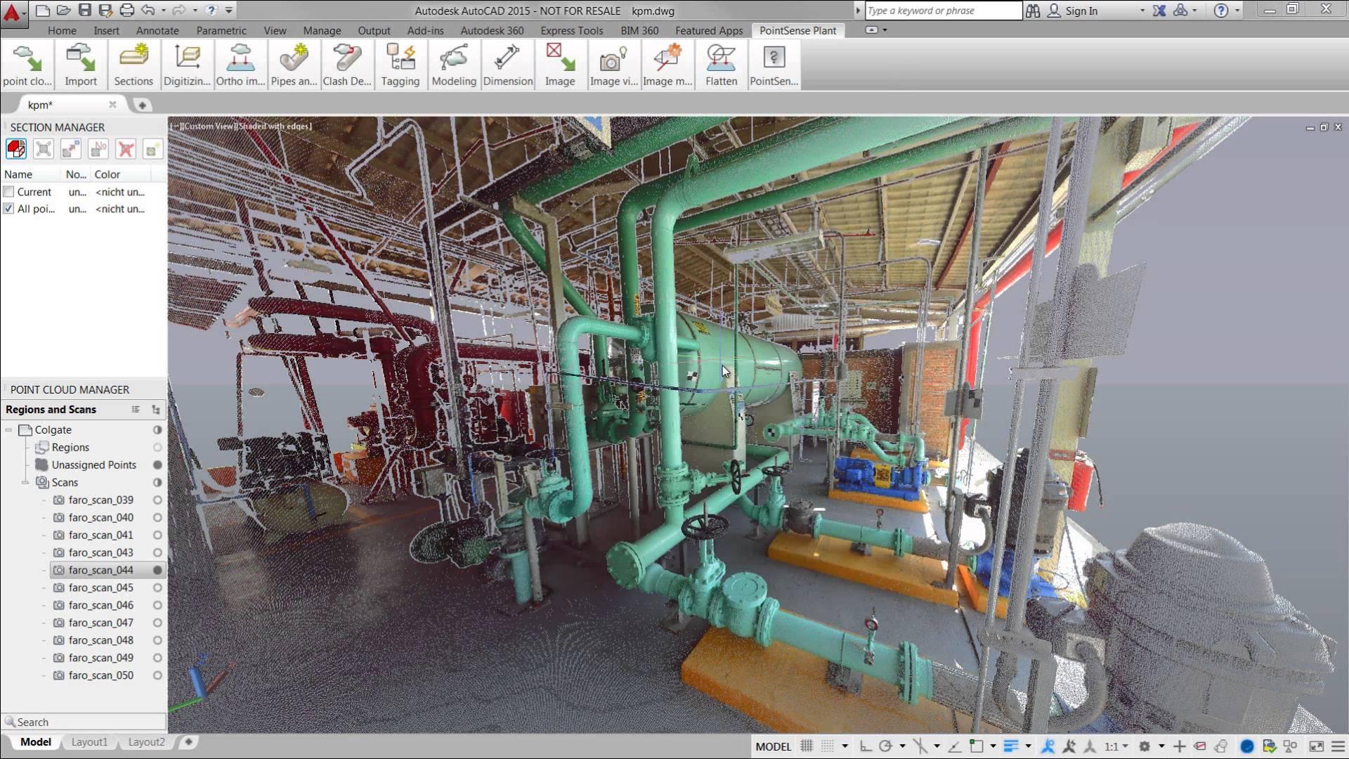 Faro Focus 3D kubit Pointsense Plant para documentación 3D Escáner 3D colombia venezuela peru ecuador faro