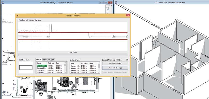 FARO Pointsense for Revit, software para el escaner 3D FARO Focus y Freestyle Colombia Venezuela Ecuador Peru