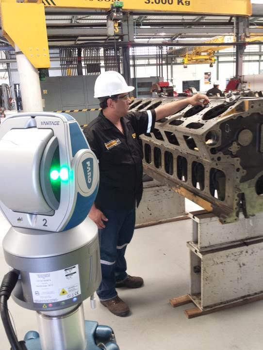 FARO Vantage Laser Tracker Caterpillar Venezuela