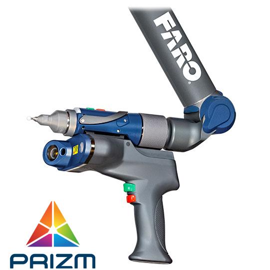 Faro escáner color przim laser escaner 3d a todo color Scanarm quantum colombia venezuela ecuador peru