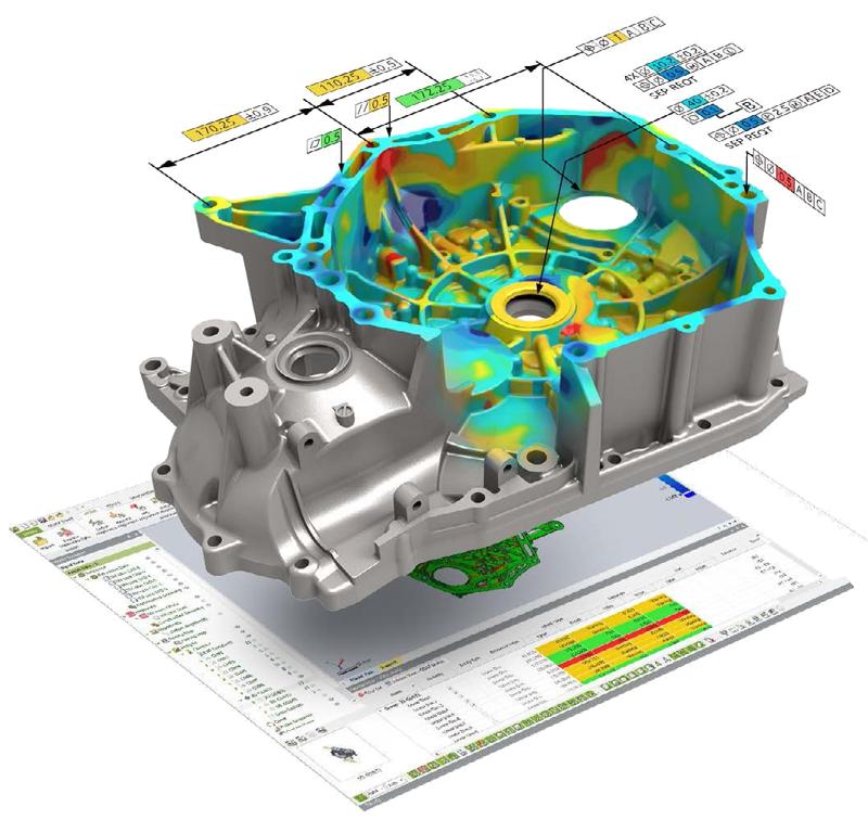Geomagic Control x 3d systems Software Inspección 3D Metrología FARO Colombia Venezuela