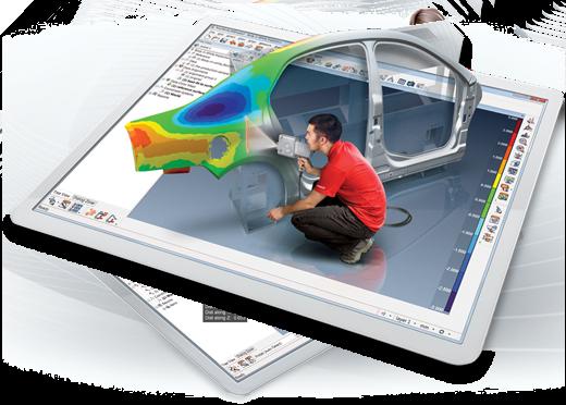 3d systems Polyworks Inspector software para metrología dimensional FARO cmm colombia venezuela peru ecuador faro