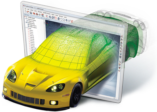 3d systems Polyworks Modeler software para Ingeniería Inversa FARO colombia venezuela peru ecuador faro