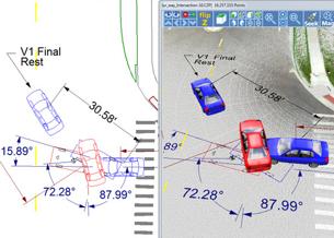 Faro CrashZone escáner 3D Focus reality aras 360