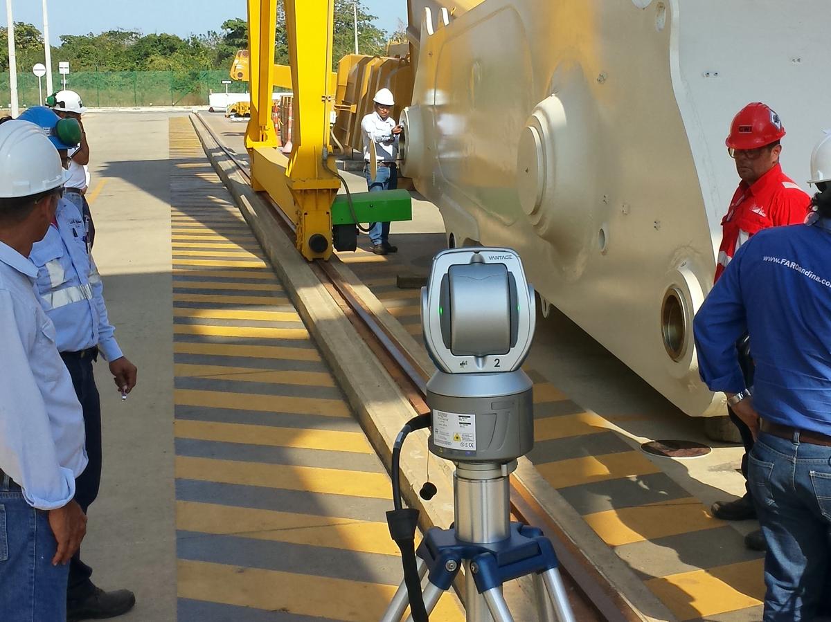 FARO Laser Tracker Faro Arm Mincivil Trackarm Colombia